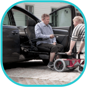 Trapmann auto-aanpassingen - meerijden